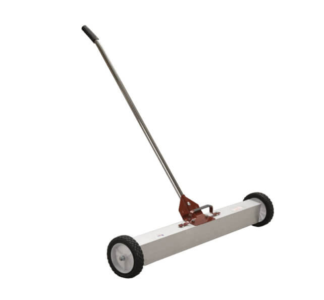 Push Style Magnetic Broom With Load Release