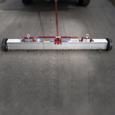 auto release magnetic sweeper, industrial magnets